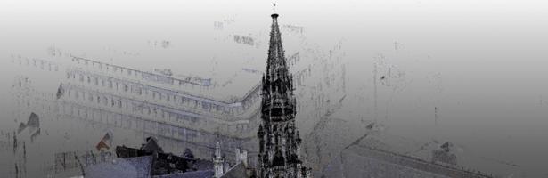 Scan 3D de l'Hôtel de Ville de Bruxelles